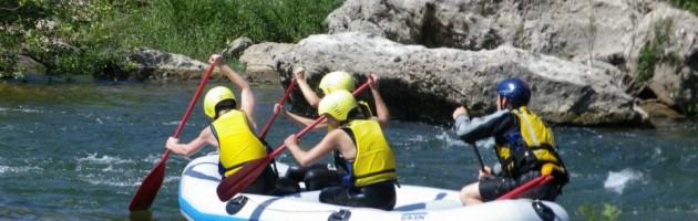 A la découverte du rafting