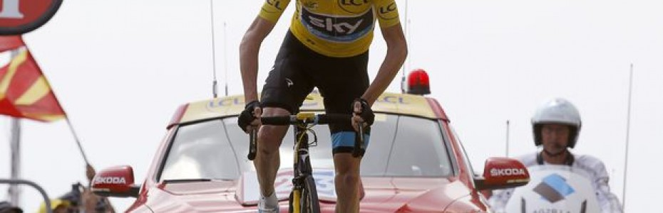Chris Froome gagne le Ventoux