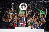 Le PSG champion