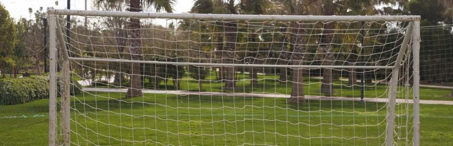 terrain de foot à la maison
