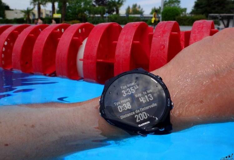 Une montre de sport