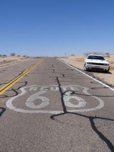 Le route 66 aux Etats-Unis