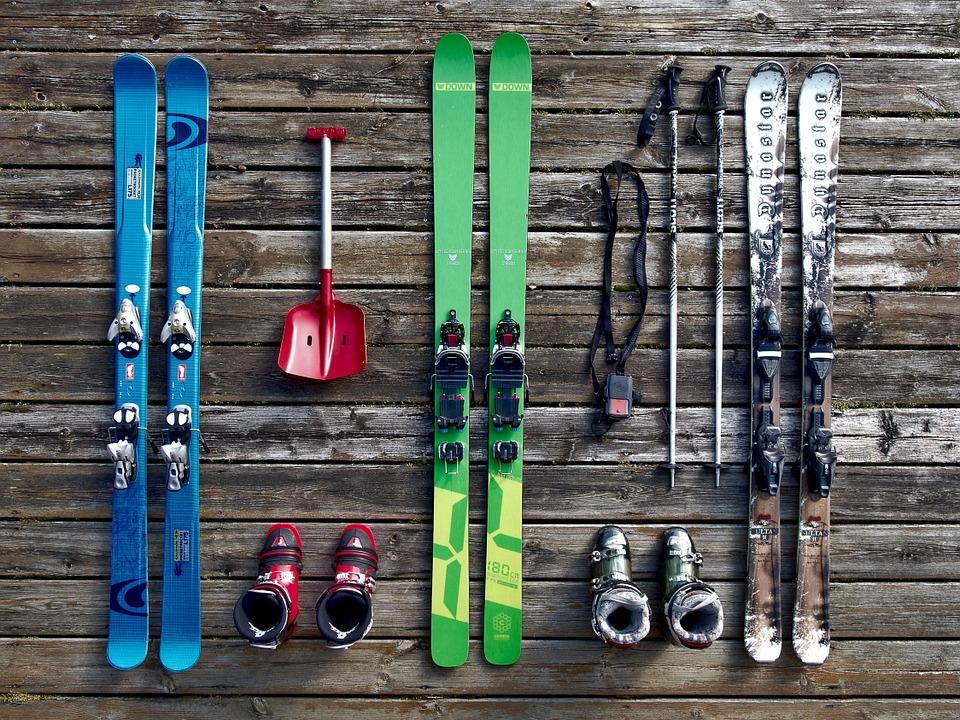 Du matériel de ski